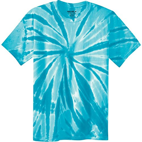 Koloa Surf Co. Colorful Tie-Dye T-Shirt (Turquoise, XL)