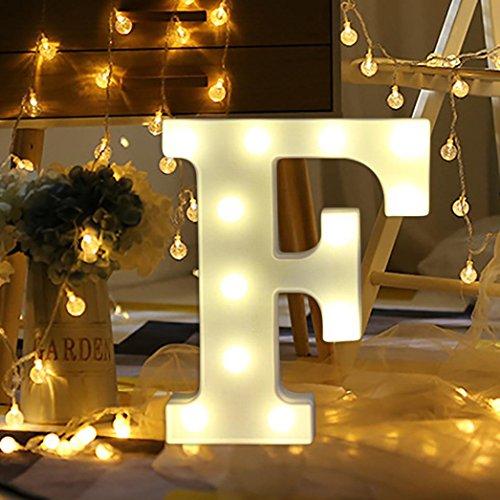 Light Up Letters Smytshop Warm White Led Letter Light Up Alphabet Letter Lights For Festival Decorative Letter Party Wedding  F