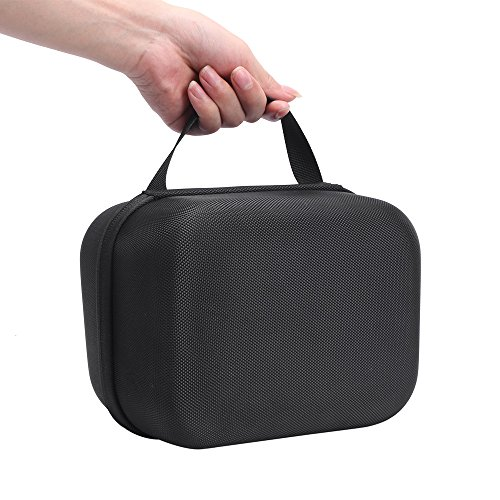 Esimen Hard Travel Case for Oculus Go Virtual Reality Headset and Controllers Accessories Carry Bag Protective Storage Box (Black+Gray) by Esimen (Image #5)