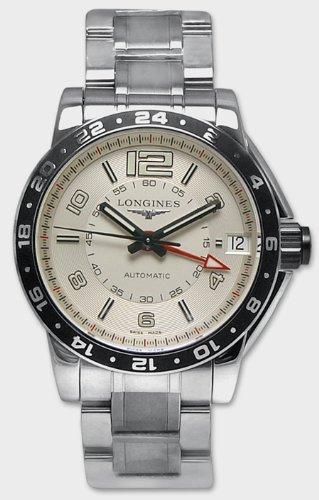 LONGINES RELOJ DE HOMBRE AUTOMÁTICO 42MM CORREA Y CAJA DE ACERO L36684766: Amazon.es: Relojes