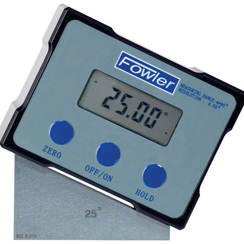 Fowler 54-422-444 Xtra-Value Digi-Level Digital Level, 360° Maximum Measurement, ±0.05° Repeatability by Fowler