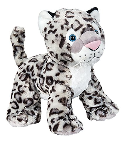 Cuddly Soft 8 inch Stuffed Snow Leopard...We stuff 'em...you love 'em!