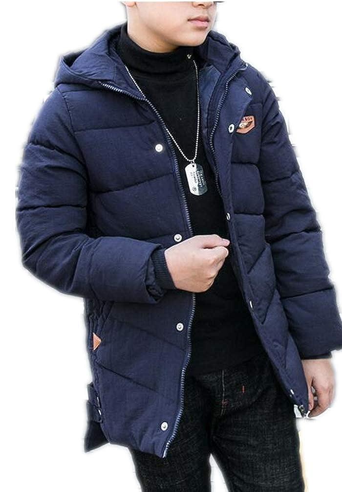 Jungen Mantel - Kinderjacke Jungen Mädchen Wintermantel Mantel Parka Oberbekleidung Winter Winterjacke Lang Jacket Warm Mantel Verdickte Outerwear