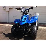 """110cc Four Wheelers 6"""" Tires Atvs, Red"""