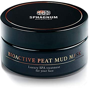 Natural Peat Mud Face Mask – Best For Anti-Aging, Soothing Wrinkles, Treating Acne, Blackheads Eczema. Deep Cleansing Facial Moisturizer, Nourishing Healing Skin Care Solution For Men Women