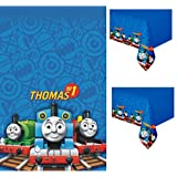 Thomas the Tank Engine Party Plastic Tablecover (54 x 84) by Thomas & Friends