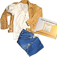 Glow Up Fashion Fix Monthly Style Clothes Subscription Boxes Cute Outfit In a Box for Women Two Piece Sets Cut