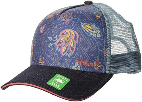 prAna Women's La Viva Trucker Cold Weather Hats, One Size, Denim Sierra