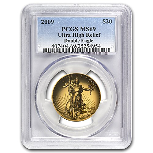 2009 Ultra High Relief Double Eagle MS-69 PCGS 1 OZ MS-69 PCGS