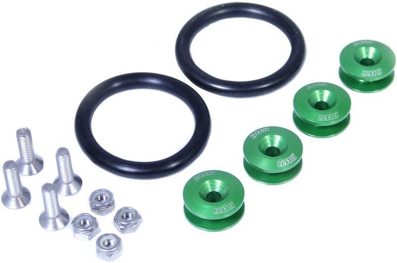 Green Blackworks Quick Release Fasteners Set
