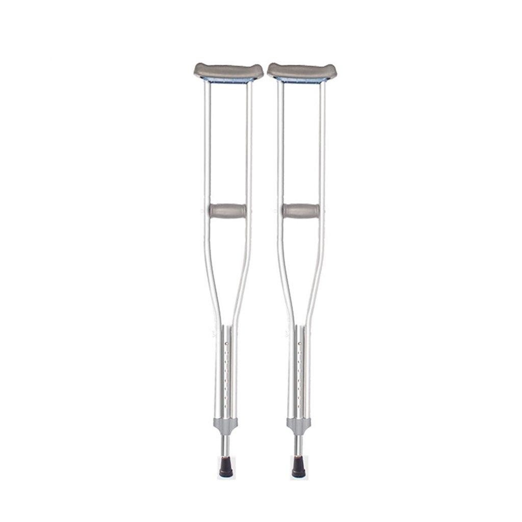 HAIYING 松葉杖快適なグリップを備えた人間工学に基づいたハンドル高密度の丈夫なアルミニウム標準サイズ、高さ112-132cm、高さ調節可能なアンチスキッド (サイズ さいず : 132-152cm) B07D69ZPCM 132-152cm