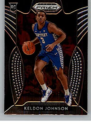 2019-20 Prizm Draft Picks Basketball #29 Keldon Johnson Kentucky Wildcats Official NCAA Trading Card From Panini America