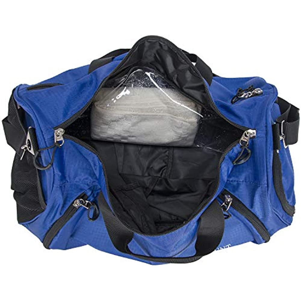 259524f076 Gym Duffle Bag Travel Sports Bag with Shoe Compartment and Wet Pocket for  Women