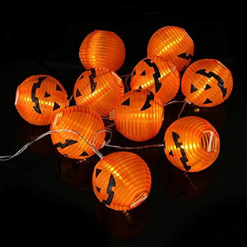 Nightlight,YJYDADA Pumpkin String Lights Halloween Decoration Lights with 20 LED Beads
