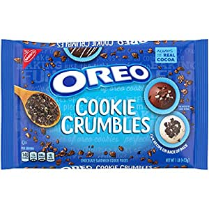 OREO Chocolate Sandwich Cookie Crumbles, 1 Pack (1 lb)