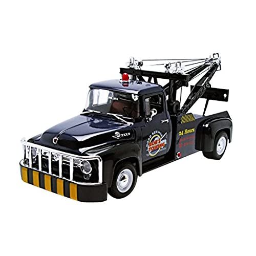 Welly 19834bl - Ford - F100 Tow Truck - 1956 - Échelle 1/18