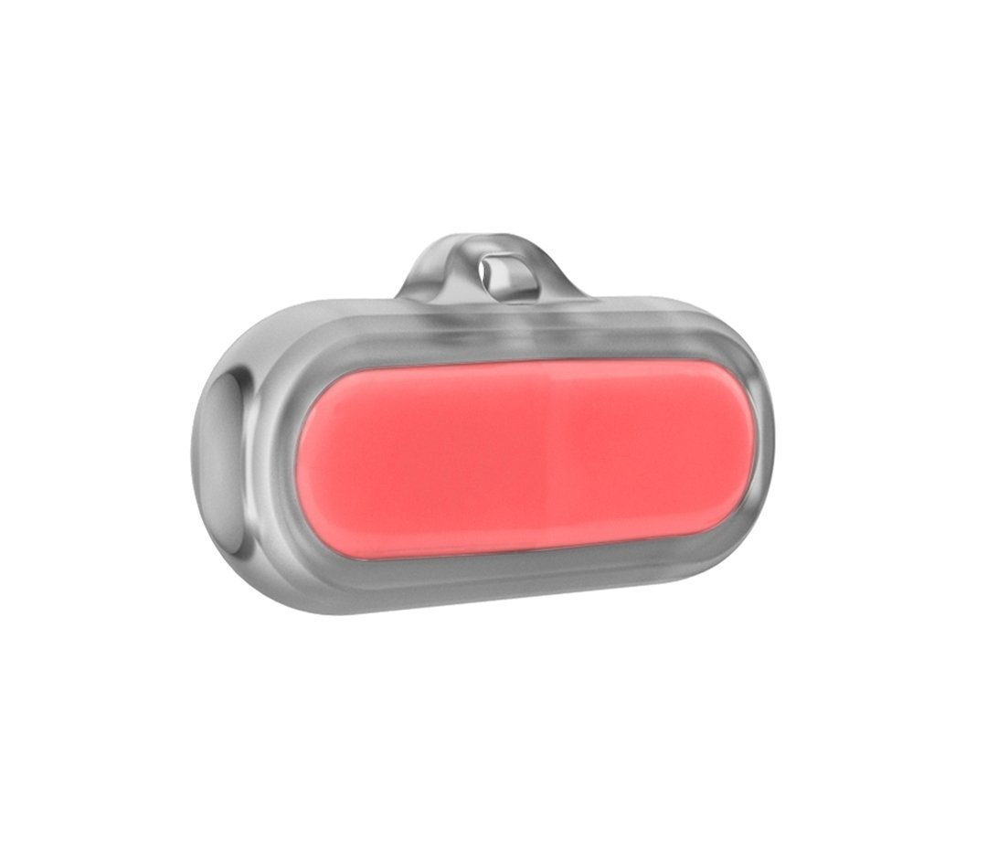 Poof Bean Pet Activity Tracker, Coral