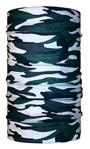 microfibre HeadLoop multi-purpose scarf grey headscarf winter neckerchief camouflage