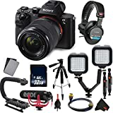 Sony Alpha a7 II Mirrorless Digital Camera with FE 28-70mm Lens Vlogger Combo with 4k Recorder International Model