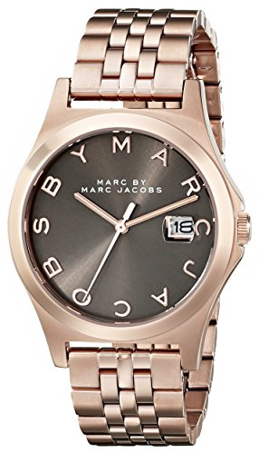 Marc by Marc Jacobs Women's MBM3350 Rose Gold-Tone Stainless Steel Bracelet Watch