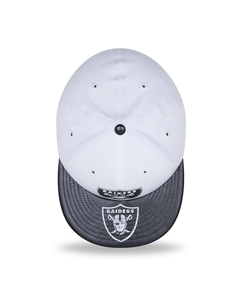 Official Draft 2017 59fifty Basecap White Oakland Raiders New Era