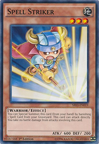 Striker Spell (Spell Striker - SR03-EN019 - Common - 1st Edition - Structure Deck: Machine Reactor (1st Edition))