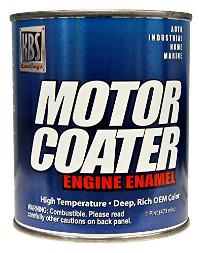 KBS Coatings 60327 MG Maroon Motor Coater Engine Paint - 1 Pint