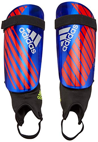 - adidas X Reflex Shinguard, Bold Blue/Active Red/Silver Met, Medium