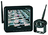 Voyager WVOS541 Four Camera Enabled Digital Wireless Observation System with 5.6'' Color LCD Monitor, connect up to 4 Wireless Cameras and 1 Wired Camera, Build-In Microphone, 960 x 234 Resolution