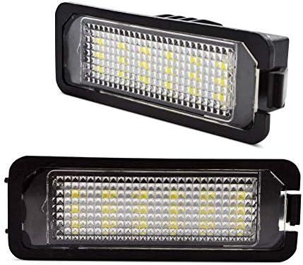 LncBoc LED Luz de la matrícula para coche Lámpara Numero plato ...