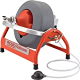 RIDGID 53117 K-3800 Drum Machine with C-32 3/8 Inch x 75 Foot Solid Inner Core Cable, Drain Cleaning Machine and Drain Auger