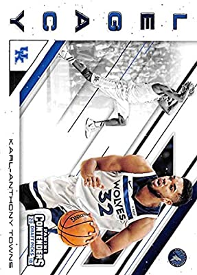 2018-19 Panini Contenders Draft Picks Legacy #17 Karl-Anthony Towns Kentucky Wildcats/Minnesota Timberwolves