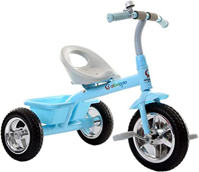 xy Triciclos Niño Y Niña Montando Triciclo Bicicleta For Niños Al ...