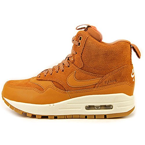 NIKE WMNS Air Max 1 MID SNKRBT Damas Zapatos Marron 685267 200