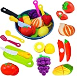 Cut Play Food Kitchen Accessories Set for Kids