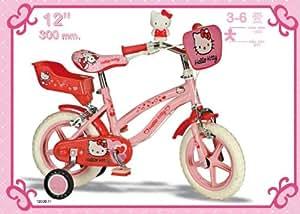 Hello Kitty de 12 pulgadas bicicleta