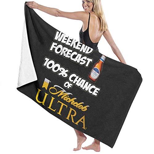LPLZM Bath Towel, Forecast 100 Bath Towels Super Absorbent Beach Bathroom Towels for Gym Beach SWM Spa