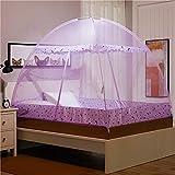 Mosquito Net Anti-Mosquito yurt, Anti-Mosquito Cloth encryption, Folding Automatic A Width 150cmlength 200cm Height 150cm