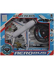 Air Plane A380 With Remote Control For Unisex , Multi Color