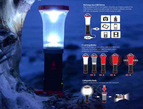 UCO Arka LED Rechargeable Lantern