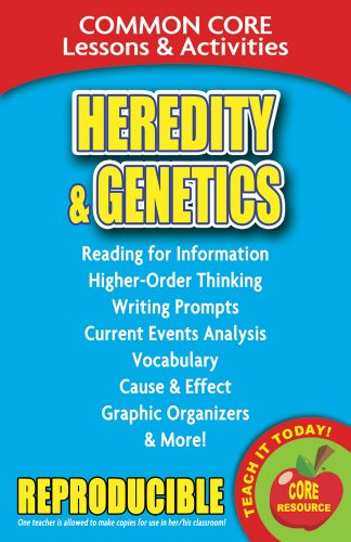 Heredity and Genetics - Common Core Lessons and Activities