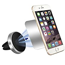 Car Mount, VersionTech Universal Magnetic Air Vent Car Mount for Smartphones and GPS Device, Cellphone Holder for iPhone 7/ 7 Plus/ 6s / 6 / 6s Plus / 6 Plus, Galaxy Note 5/Note 4, Galaxy S6 Edge Plus / S6 / S6 Edge, Moto X Play/ Pure/ Moto G 3rd Gen