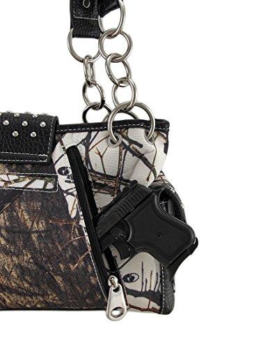 Mossy Mossy Oak Rhinestone Oak Purse Concealed Black Camouflage Carry Buckle qwS5SPCd