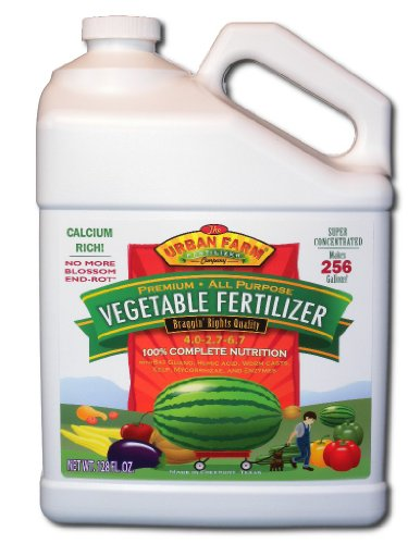 (Urban Farm Fertilizers All Purpose Vegetable Fertilizer, 1 gallon)