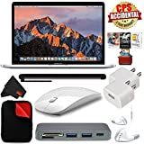 6Ave Apple 13 MacBook Pro, Retina, Touch Bar, 3.1GHz Intel Core i5 Dual Core (MPXX2LL/A) + MicroFiber Cloth + Universal Stylus for Tablets + Padded Case For Macbook Bundle