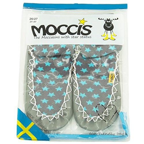moccis Stoney River Enfant/Junior–Mocassins en cuir pantoufles Chaussettes pour Homme