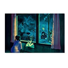 Trademark Fine Art Bedtime Stories Artwork by Erik Brede, 30 x 47-Inch