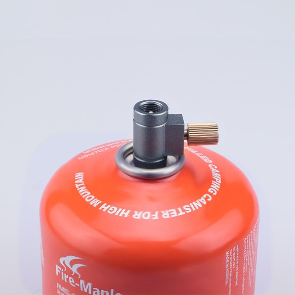 Jeebel Camp Gas Saver Plus Lindal Válvula Canister Palanca Recambio Adaptador Estufa de Camping