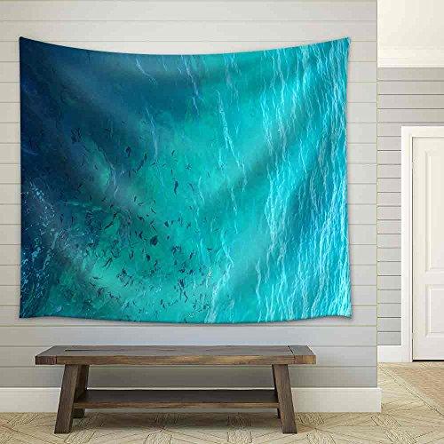Clear Water Ocean Fabric Wall