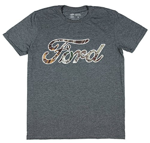 Ford Mossy Oak Camo Logo Licensed Graphic T-Shirt